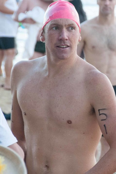 Australia's Grimsey takes FINA Open Water Grand Prix title