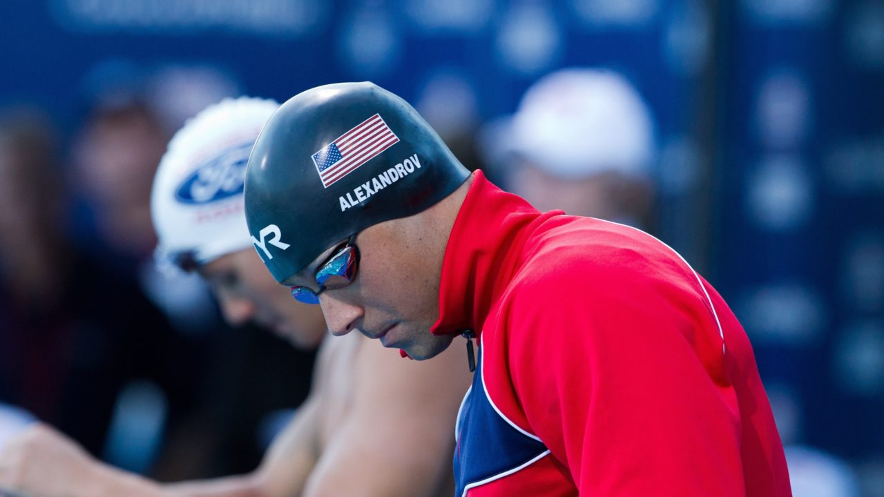 Alexandrov Leads American Team for Brazilian Fast Lane Sprint Meet