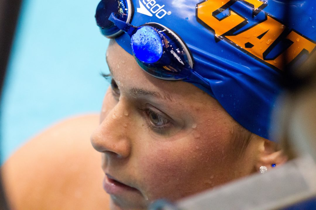 Elizabeth Beisel Swims Two NCAA A-Times to Finish Ohio State Invite