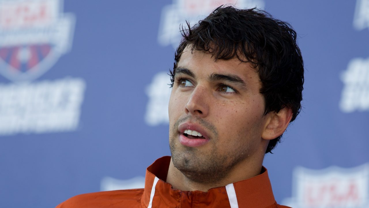 "Ricky Berens Brought On as Volunteer Assistant at Texas; Says He ""Will Be Swimming"""