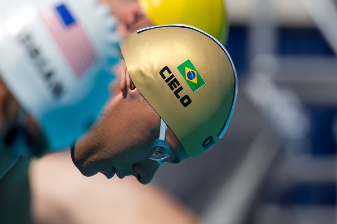 Cielo Drops Out of Short Course World Championships to Rehabilitate Knees