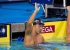 Kosuke Kitajima, 200 breaststroke finish, win, 2010 Pan Pacific Championships (Photo Credit: Tim Binning, theswimpictures)