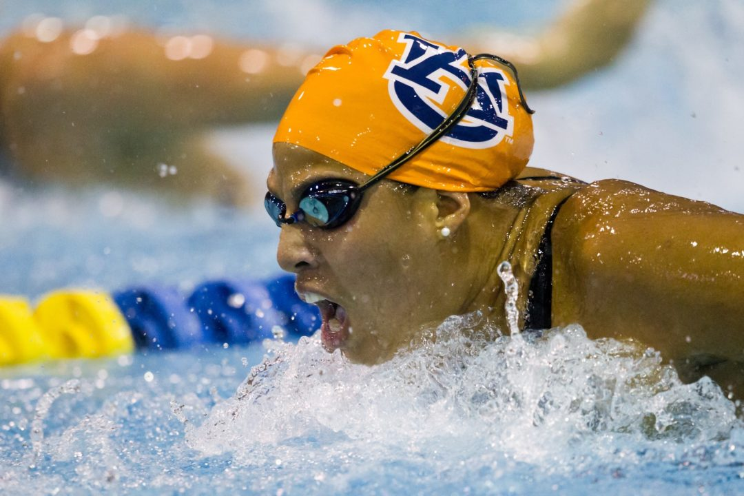 2012-2013 College Swimming Previews: Pressure Sits on Olivia Scott for #7 Auburn Women