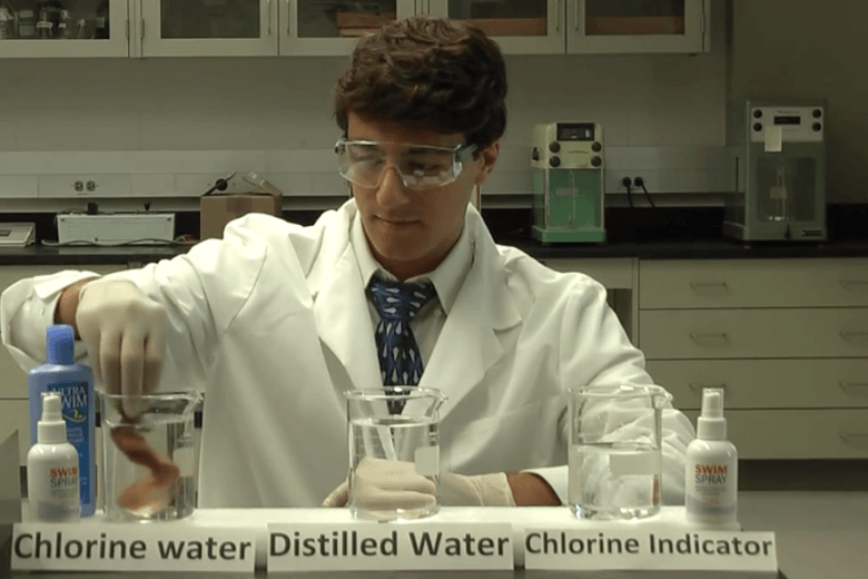 The SwimSpray Chlorine Laboratory