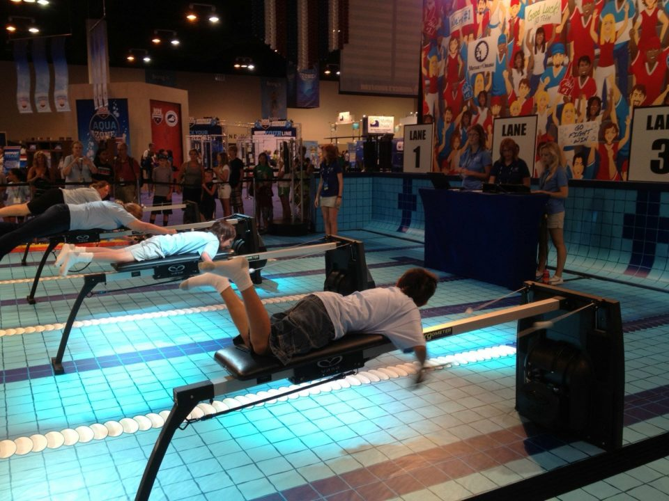 """USA Swimming's """"Aqua Zone: Nominated for National """"Event Techonology Award"""""""