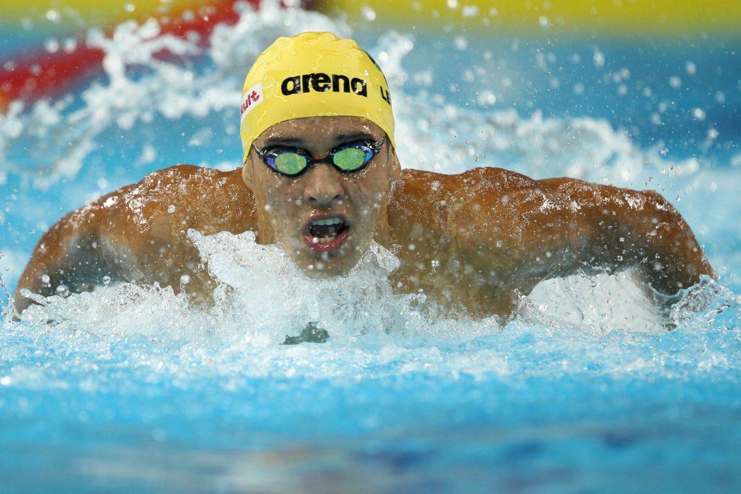 The Chad Le Clos Swimming Photo Vault
