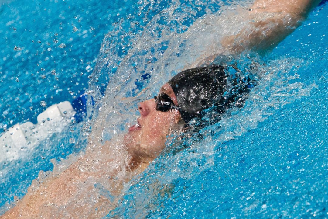 Conger Swims Lifetime Best in 200 IM By 5 Seconds at Catholic High School Champs