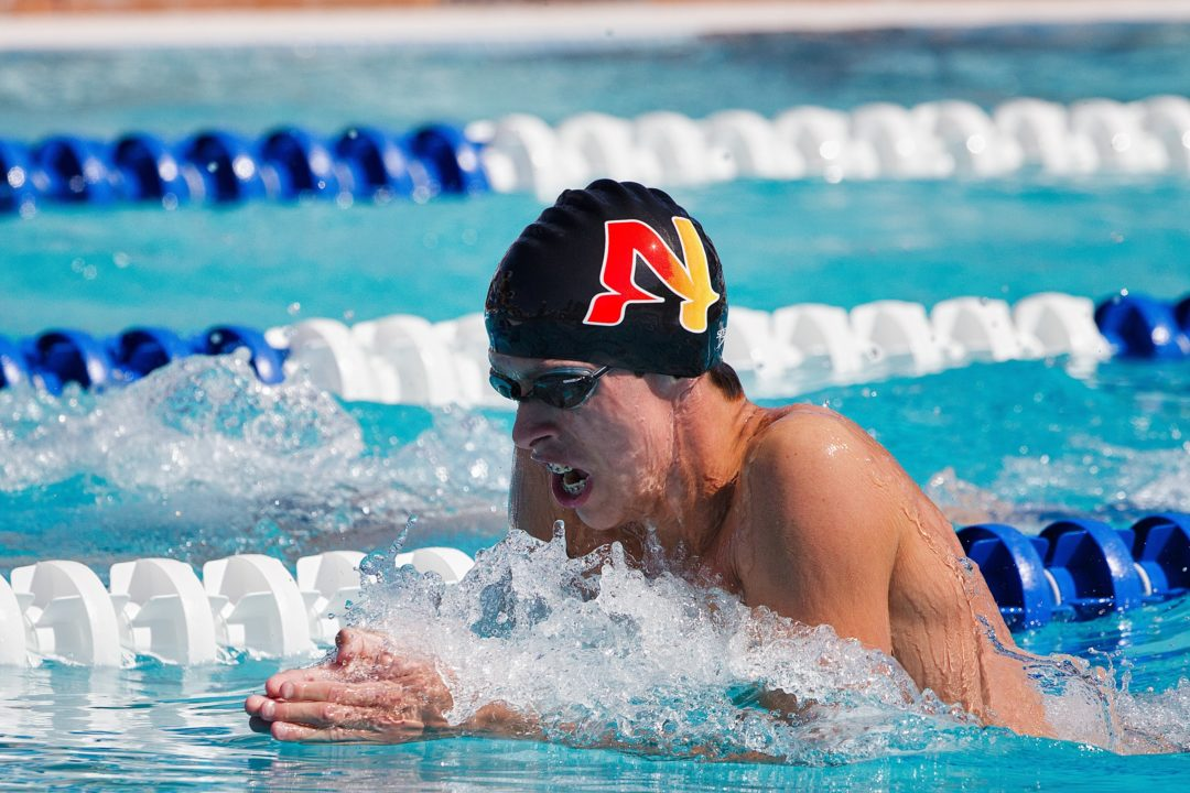 Texas' Will Licon Secures NCAA Qualification on Final Day of 2014 American Short Course Championships