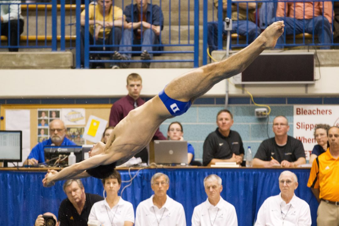 McCrory Travels to USA Diving Winter Nationals