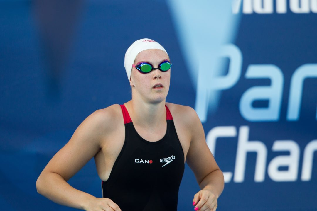 Erica Morningstar Casually Breaks CIS 50 Free Record out of Heat 1 in 25.07