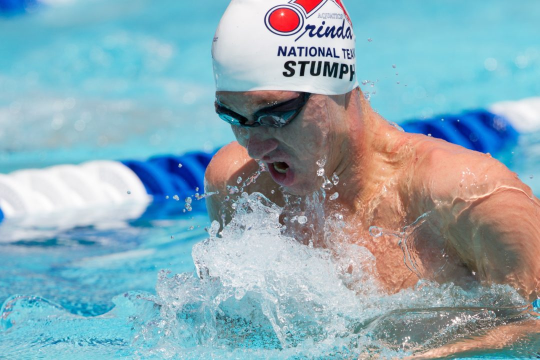Dave Salo Gets His Male Breaststroker; Steven Stumph Gives Verbal