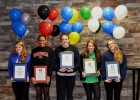 Baylor School: Emma Lochmaier with Air Force, Mikaya Reynolds with Marshall, Kristen Vredeveld with Cal, Kimberlee John-Williams with Georgia, and Hannah Peiffer with Queens University!
