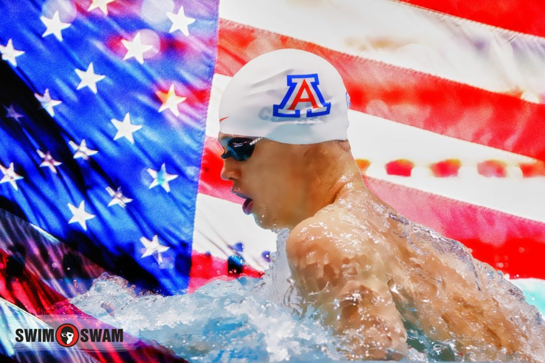 Kevin Cordes Breaks American Record in 100 Breast