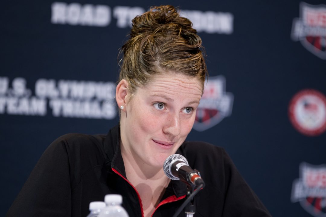 Missy Franklin Swims Personal Best, NAG Record to Open Minneapolis Grand Prix