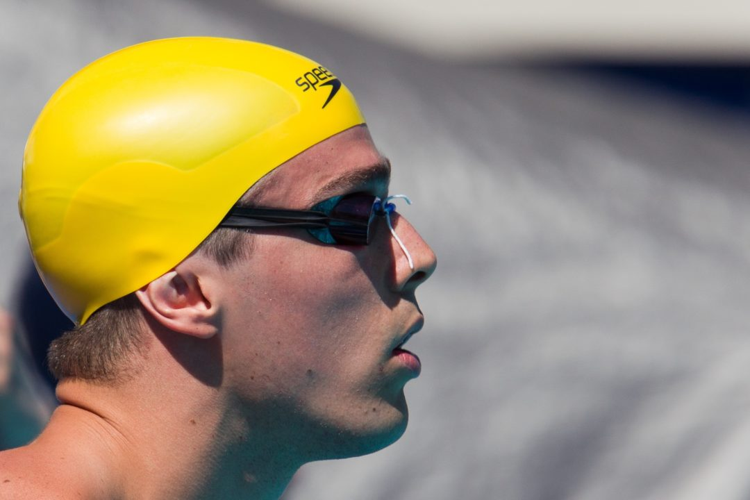 Brazilian Sprinting Great Bruno Fratus to Train with European ADN Project