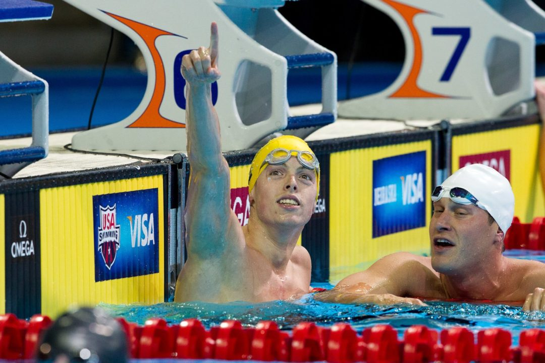 Ledecky, Jaeger Victorious in First Races at Charlotte UltraSwim