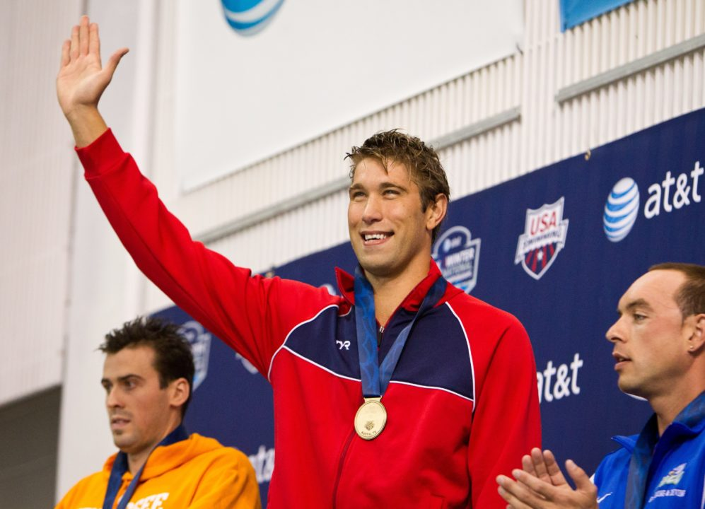 Matt Grevers Breaks American Record in 100 Back