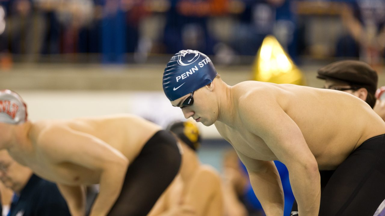 Shane Ryan Shines At The Virginia Quad Meet; Posts Nation Leading 100 Freestyle Time