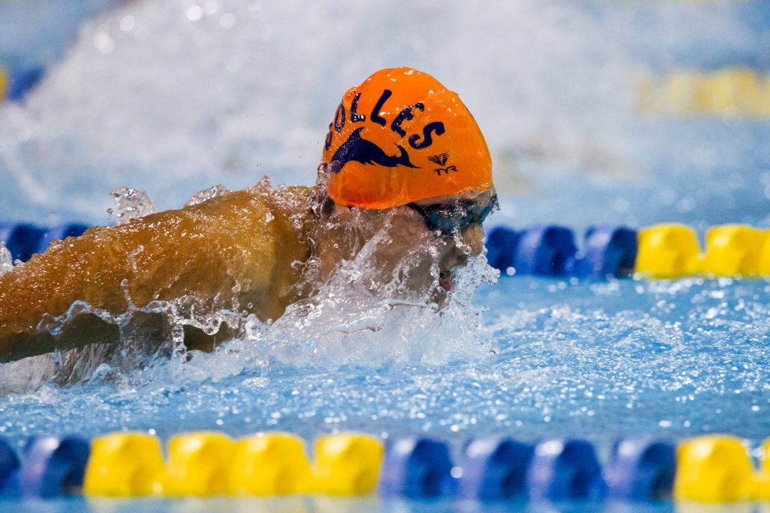 Records fall, Bolles School in control after prelims at Florida state meet
