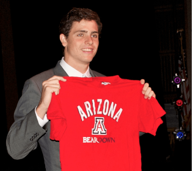 College Swimming National Letter of Intent Signing Photo Vault