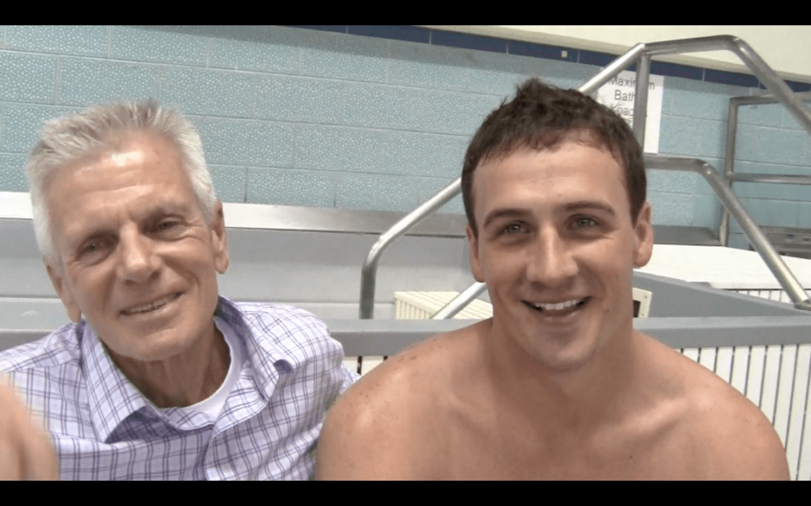 Ryan Lochte and Jackson Roach: what it's like on national team