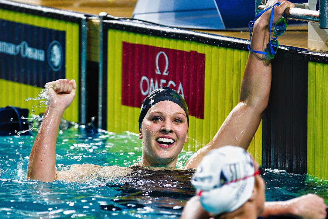 Charlotte Grand Prix: Sutton Owns 800; Ervin wins 100 freestyle