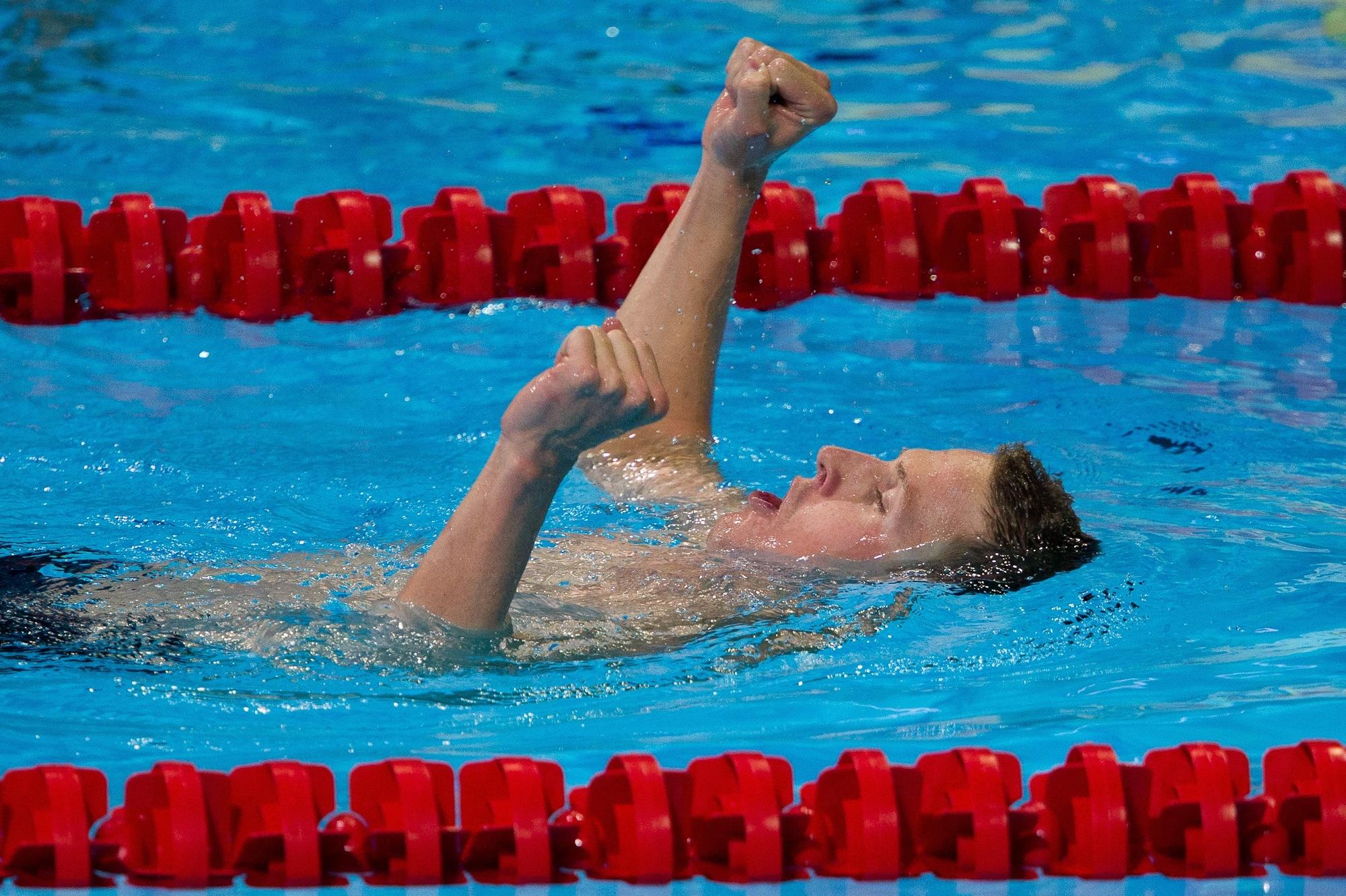 The scott weltz swimming photo vault - Olympic swimming breaststroke ...