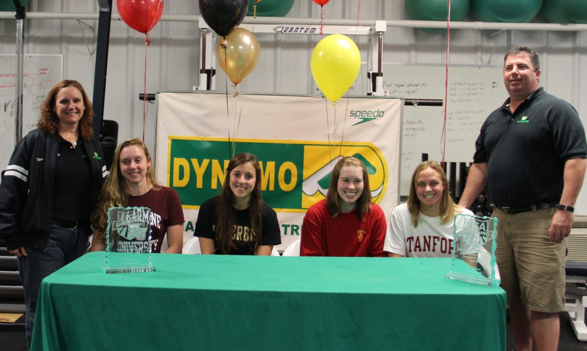 National Letter of Intent Photo Vault: Dynamo and SwimMAC