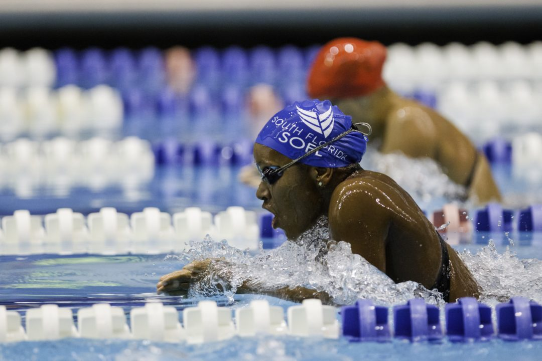 Alia Atkinson Wins 100 Breaststroke At Doha World Cup – Race Video