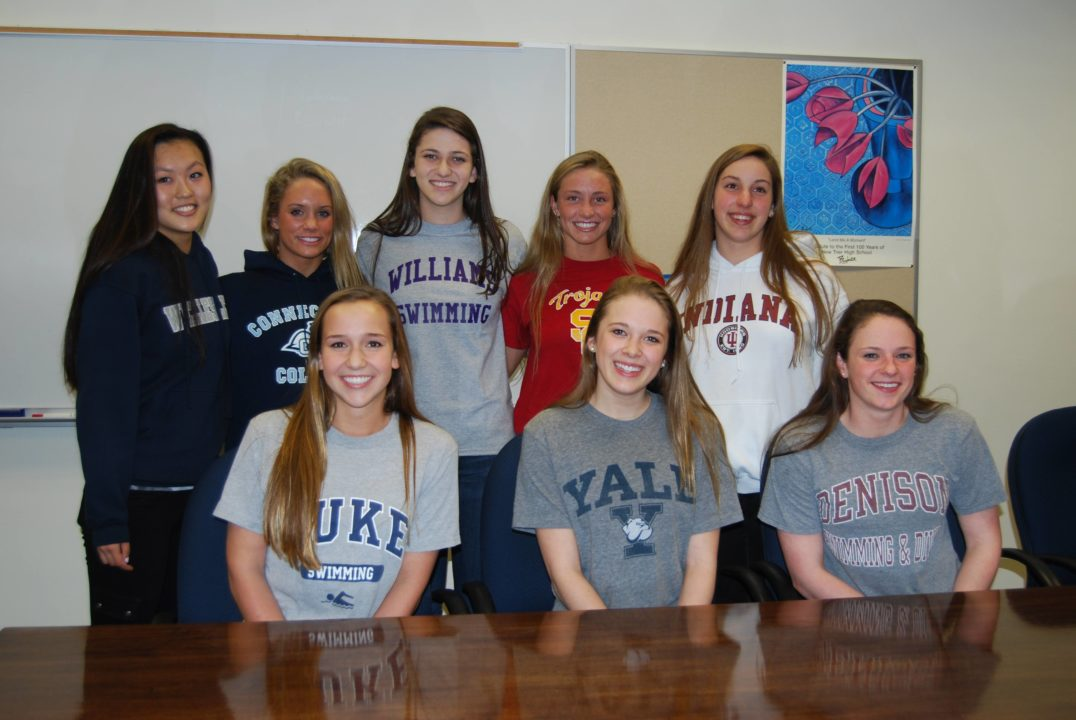 Photo Vault: New Trier Signing Day, Including USC-Bound Reed Malone