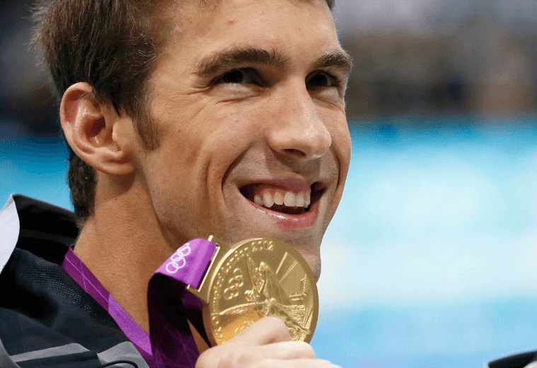 Lifetime Achievement, 2012 Swammy Award Winner, Michael Phelps