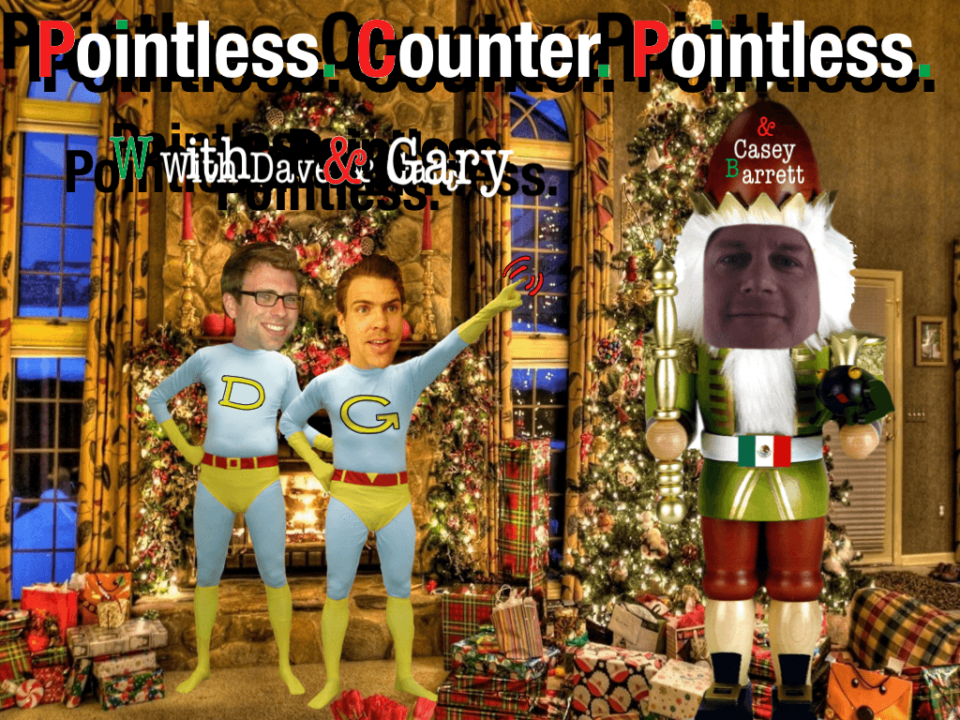 Merry Xmas from Gary, Dave and a Special Guest
