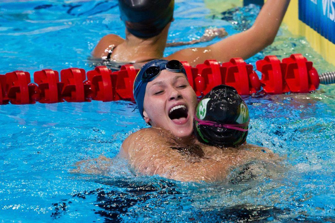 Sensational Stretch for Olivia Smoliga