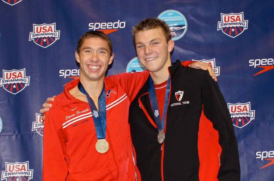 The Steven Stumph and Curtis Ogren Swimming Photo Vault