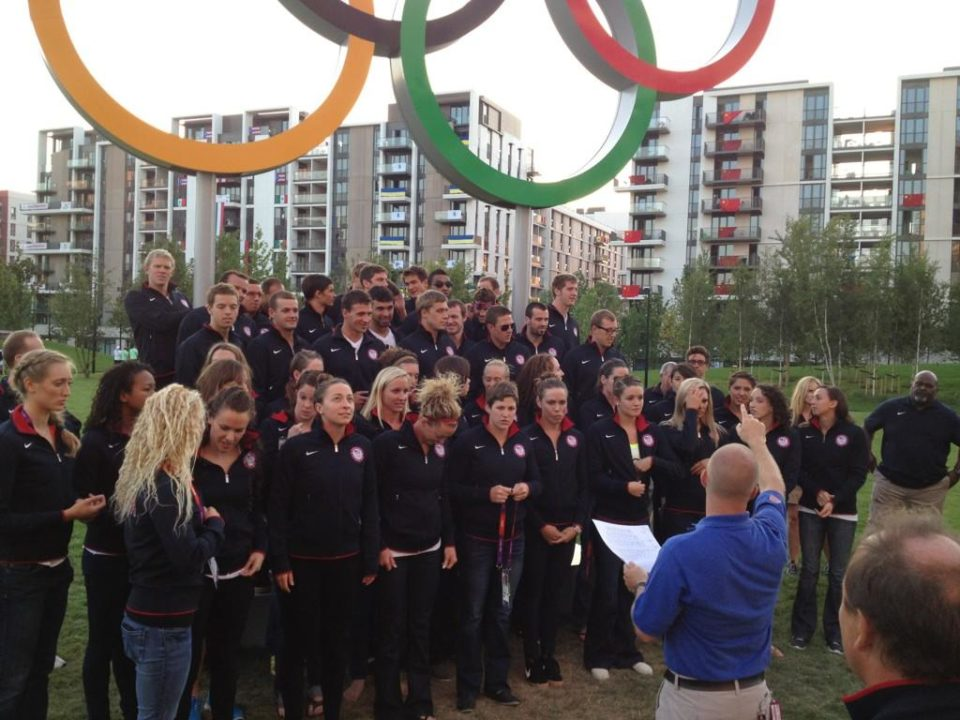 Coach Todd Schmitz Photo Vault, Behind the Scenes at the London Olympics