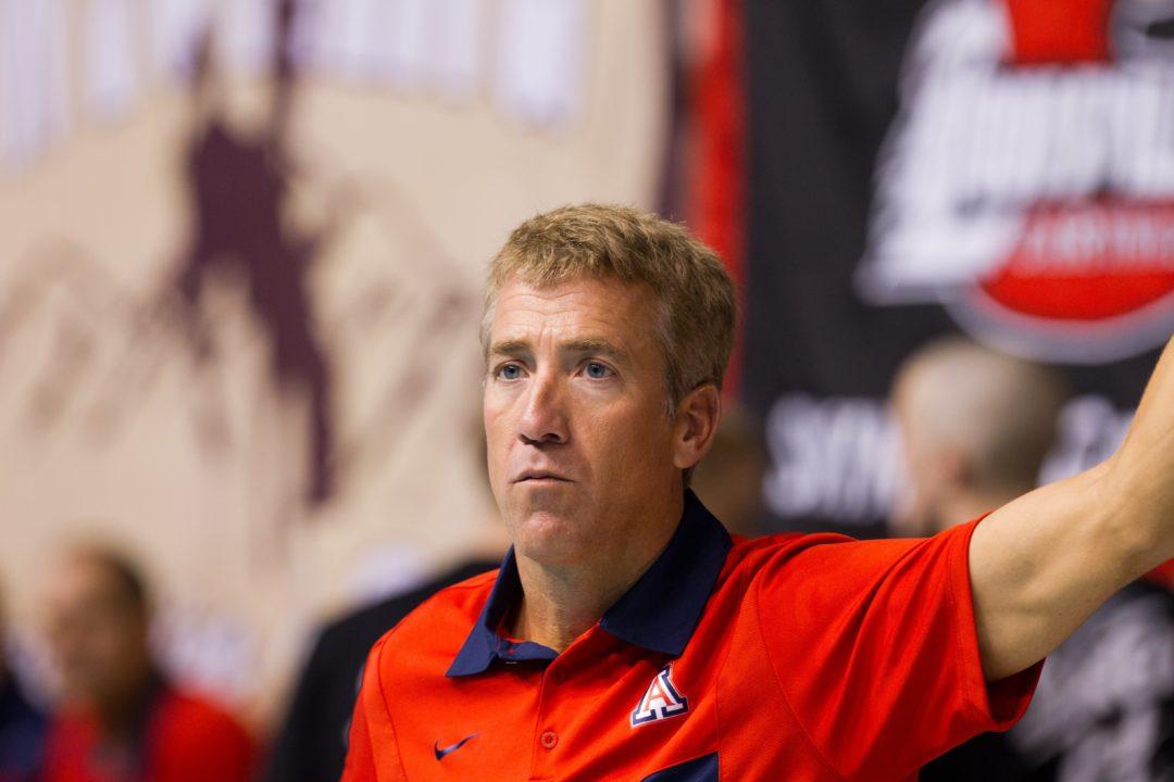 BREAKING: Eric Hansen Resigns as Head Coach of Arizona Swim Teams