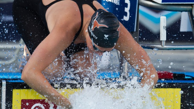Kathleen Hersey, 200 butterfly finals, 2010 US National Championships (Photo Credit: Tim Binning, the swim pictures)