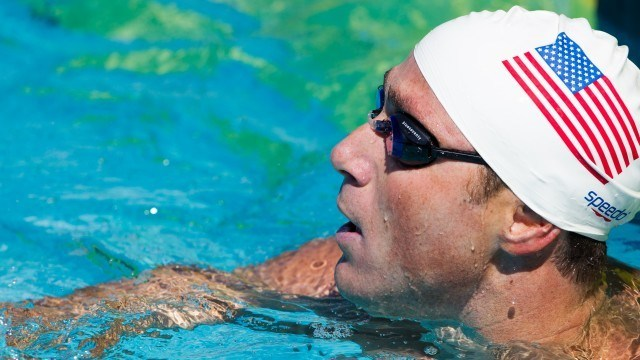 Jason Lezak, 100 freestyle, 2010 US National  Championships (Photo Credit: Tim Binning, the swim pictures)