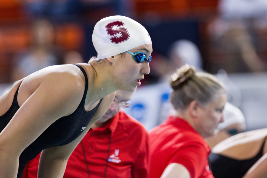 Andi Murez Breaks Her Own National Record in 100 Free Semi