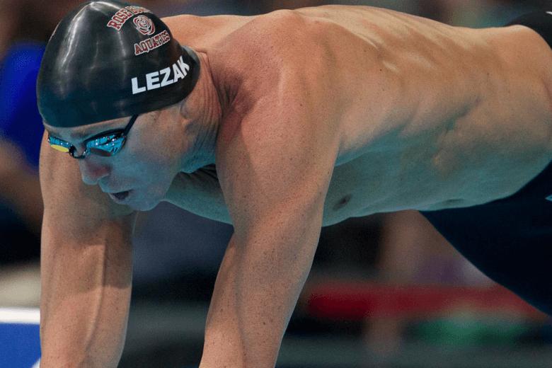 The Jason Lezak Swimming Photo Vault