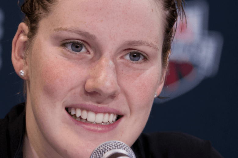 Missy Franklin Swims Personal Best in Freestyle