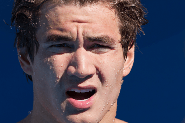 Nathan Adrian Talks about Breaking Matt Biondi's 100 Free Record