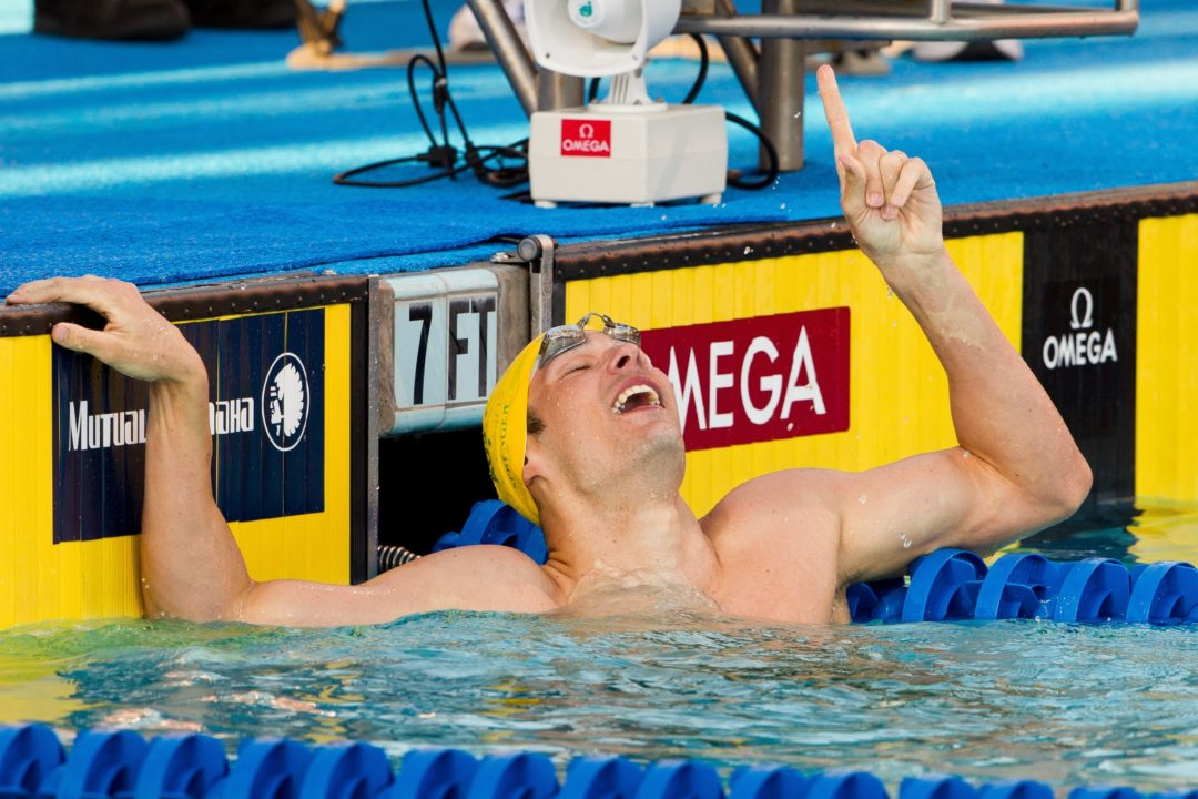 Sprenger and Irvine post world's best on night four of Aussie Champs