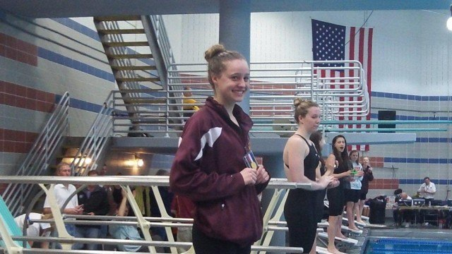 Freshman Megan Byrnes is already a star for champions Oakton (Photo Courtesy: Matt Rees)