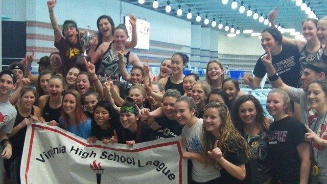 The girls from Oakton ran away with the title in Northern VA. (Photo Courtesy: Matt Rees)