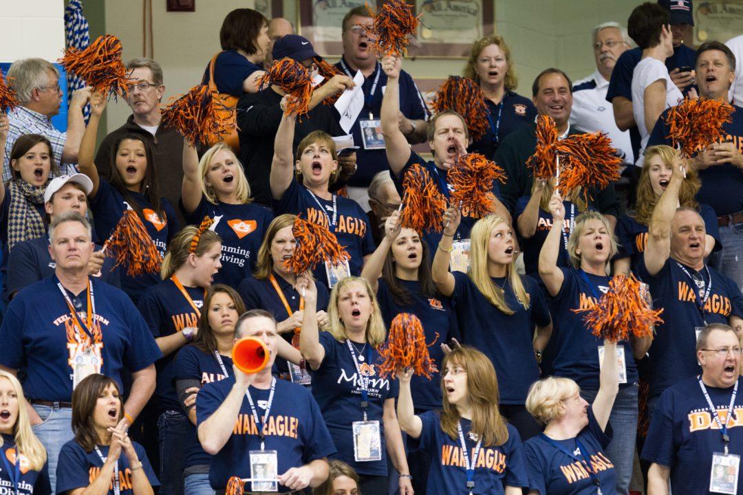 Auburn Men Score Big With Three Into A-Final of Men's 1-Meter at SEC Championships