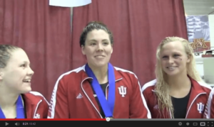 2014 Big Ten Women's Championships: Ivy Martin 48.0 on day 3 prelims, will showdown with Ackman