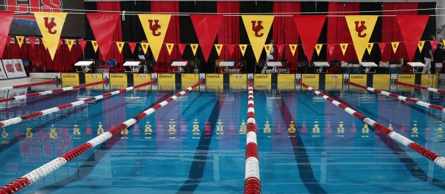 Calgary Pool, CIS Swimming Championships presented by Team Aquatic Supplies (Swim Photo Credit: David Moll / University of Calgary)