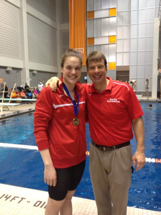 Vredeveld Wins Top Swimmer as Baylor Girls Take 8th Straight Tennessee Title