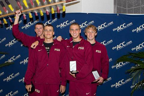 Heartbreaking DQ Mars Otherwise-Exciting Night 1 of ACC Championships; Florida State Breaks ACC Record